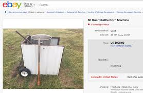 Used Vending Machines For Sale Ebay New The Top 48 Places To Find Affordable Used Kettle Corn Poppers