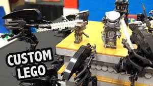 <b>LEGO Alien</b> vs <b>Predator</b> Temple Battle | BrickCon 2018 - YouTube
