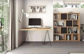 trendy home office furniture. Contemporary Home Office Furniture Excellent Temahome Flow Modern Desk Wild Oak Top With Black Trendy