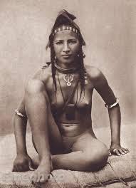 Nude tribe women art