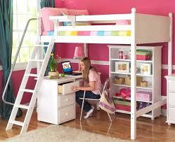 Cool bunk bed for girls Cottage Childrens Bunk Beds With Desk Kids Bunk Beds With Desks Unique White Knockout High Loft Childrens Bunk Beds Cbatinfo Childrens Bunk Beds With Desk Kids Twin Bunk Bed With Desk Bedroom