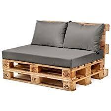 pallett furniture. Grey Water Resistant Pallet Furniture 1 Piece Hollowfibre Back Cushion Only Pallett