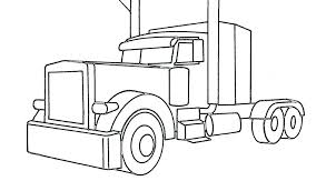 Truck Printable Coloring Pages Free Truck Coloring Pages Coloring