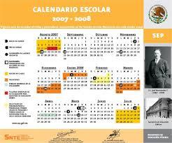 Calendario 2007 Mexico Educadora Mexicana Calendario Escolar Sep 2007 2008