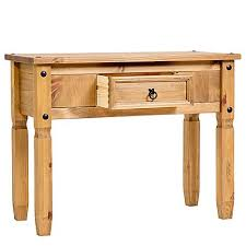 pine console table. Sierra Pine Console Table