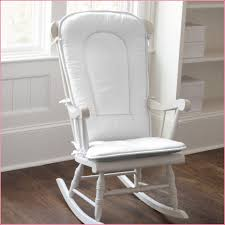 white wooden rocking chair. Baby Nursery Nice Looking White Painted Wooden Glider Childcare Rocking Chair \u0026 Ottoman - D