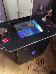 arcade cocktail table machine 412 retro 2 player gaming cabinet uk made