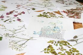 Flower Pressed Paper Diy Pressed Flower Wedding Invitations Free Printables