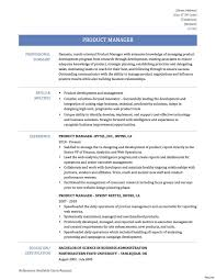 Sample Resume Director Product Development Valid Product Owner ...