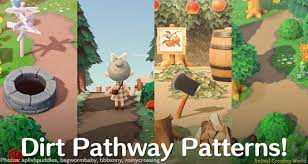 these amazing dirt pathway patterns are