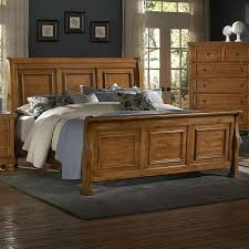 large picture of vaughan bassett reflections 540 queen sleigh bed
