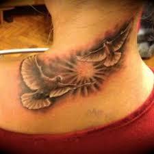 Tetování Motivy Zvířat Krk Tetování Tattoo