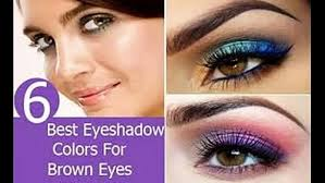 best eye makeup colors for brown eyes video dailymotion