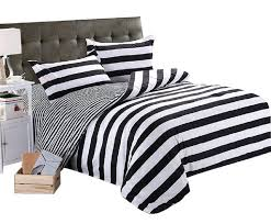 striped bedding ikea blue sets navy and white target