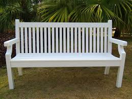 3 seater sandwick winawood bench in white