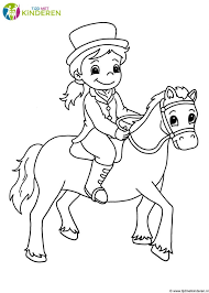 Lachende Mond Kleurplaat Archidev Paarden 2 Jaar Kinder
