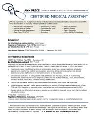 Resume Examplesical Assistant Template Free Format Templates