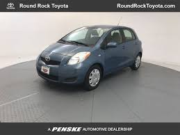 2010 Used Toyota Yaris Base at Round Rock Toyota Serving Austin ...