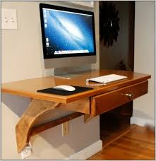 Wonderful Wall Mounted Desk Ideas Alluring Home Design Inspiration with Wall  Mounted Computer Desk Ideashome Design Ideas Desk Home