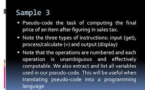 Pseudocode Flowchart
