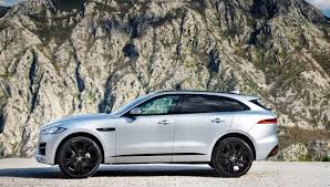 2017 Jaguar F-Pace Exterior, Side View, Alloy Wheels  D