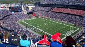 Gillette Stadium Seating Chart Gillette Stadium Section 324 Home Of New England Patriots