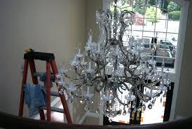 chandelier cleaning and polishing allclene chandelier
