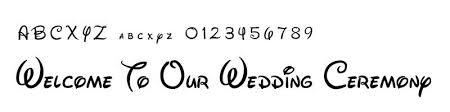 結婚式の花嫁diyペーパーアイテム向け無料で使えるおしゃれフォント集