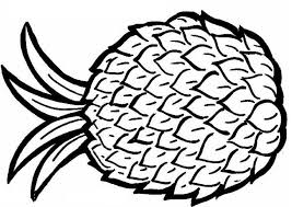 Small Picture Pineapple Coloring Pages Coloring Pages