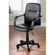 office chairs pictures. Black PU Leather Mid Back Office Chair Chairs Pictures