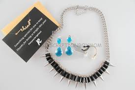 final thought this was another great box the spiked out necklace was my favorite piece in the box the double pearl ring was very unique and i have never