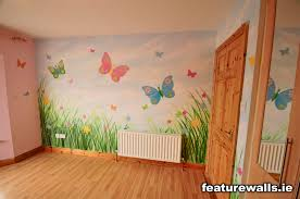 Butterfly Wallpaper Murals for Girls Room Design - Best Wall Murals -  Gorgeous Girls Wallpaper Mural Designs