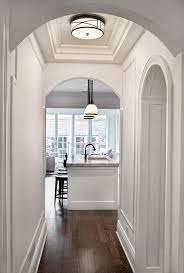 floor lighting hall. Chicago Hallway Lighting Fixtures Hall Traditional With Dark Oak Wood Flooring Wall Mirrors Flushmount Light Floor O