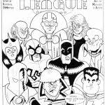 Justice League Unlimited Coloring Pages Free Printable Coloring Pages