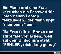 Ein Mann Und Eine Frau Versuchen Ein Passwort Für Humor
