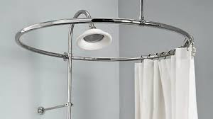shower curtain rod ideas. Impressive Circular Shower Curtain Rod Ideas For Clawfoot Tub Por De