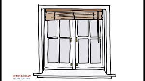 window drawing. Perfect Window Easy Step For Kids How To Draw A Windows With Blinds On Window Drawing R