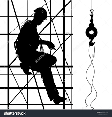 scaffold builder clipart silhouette clipartfest builder on scaffolding save to a lightbox
