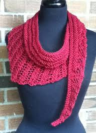 Easy Knit Scarf Pattern Free