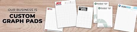 Custom Graph Paper Pads Printpps Com