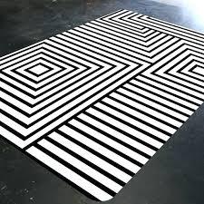 black and white rug like this item black white chevron runner rug chevron runner rug yellow