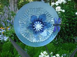 17 best images about diy glass plate flowers on