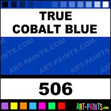 True Blue Paint Color True Cobalt Blue Pebeo Oil Paints 506 True Cobalt Blue Paint