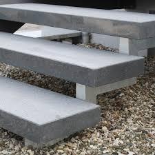 Treppenstufe Stufe Aussen Granit Dunkel Geflammt 250x35x8cm