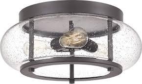 Quoizel Trilogy Lighting Quoizel Trg1616oz Trilogy Glass Lantern Flush Mount Ceiling