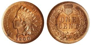 1900 Indian Head Penny Coin Value Prices Photos Info
