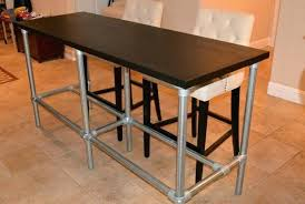narrow counter height table. Narrow Counter Height Table Long Prodigious With Pipe Legs Tables Home Design