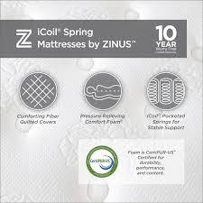 mattress in a box walmart. Zinus Slumber 1 ICoil 12\ Mattress In A Box Walmart V