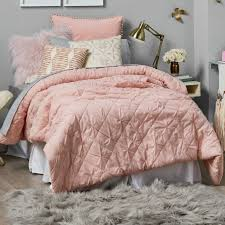 another bed bath beyond comforter comes in this pink or vanilla and sets twin xl dade2916da5c6e734ff210f02aa