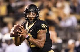 The Unflappable Nature Of Wake Forest Quarterback Jamie